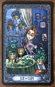 Six of Cups - Dark Mansion Tarot