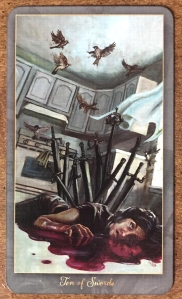 Ten of Swords - Slow Tarot