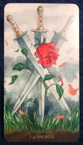 Three of Swords - Tarot of the Little Prince