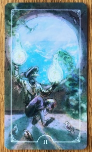 Two of Pentacles - Ostara Tarot