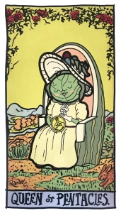 Queen of Pentacles - Tarot of the Unknown