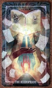 Hierophant - Ostara Tarot