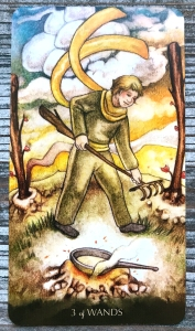 Three of Wands - Tarot of the Little Prince