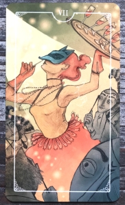 Seven of Cups - Ostara Tarot