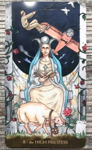The High Priestess - Tarot of the Little Prince