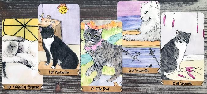 Spooky Cat Tarot
