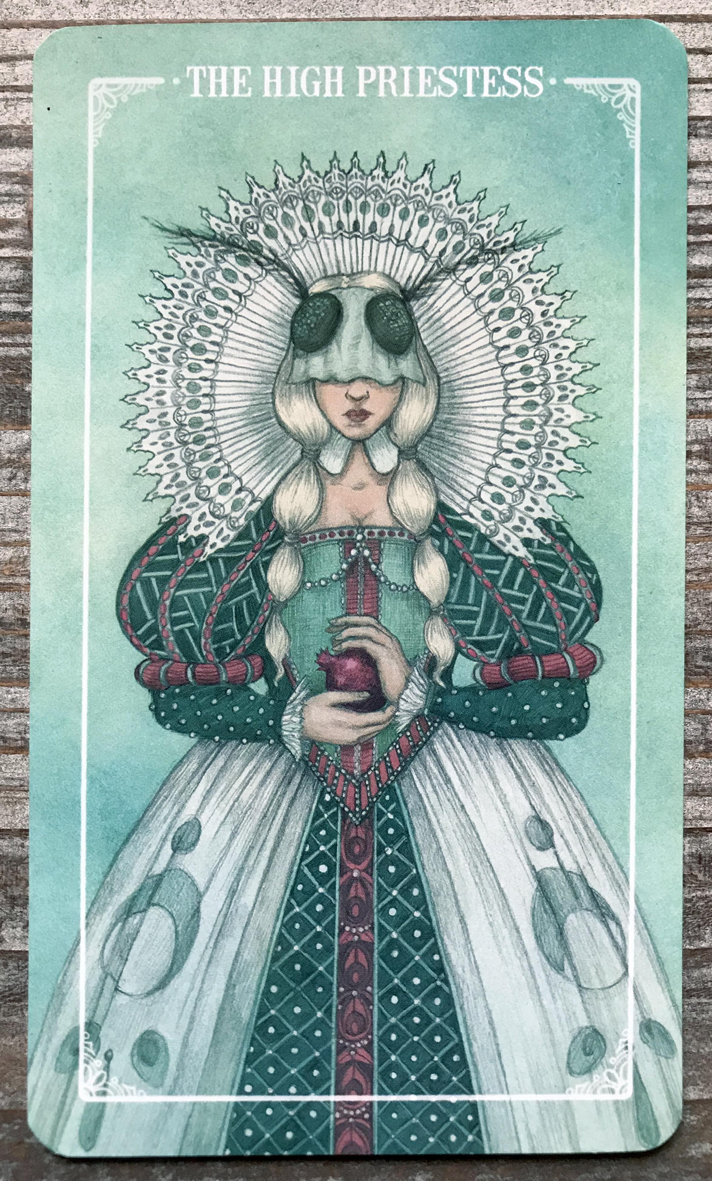 The High Priestess - Ostara Tarot