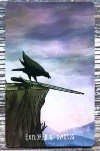 Knight of Swords - Spacious Tarot