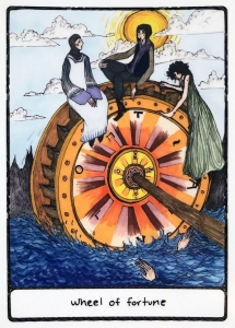 Wheel of Fortune - Efflorescent Tarot