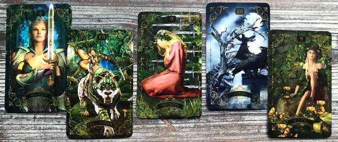 Forest Creatures Tarot
