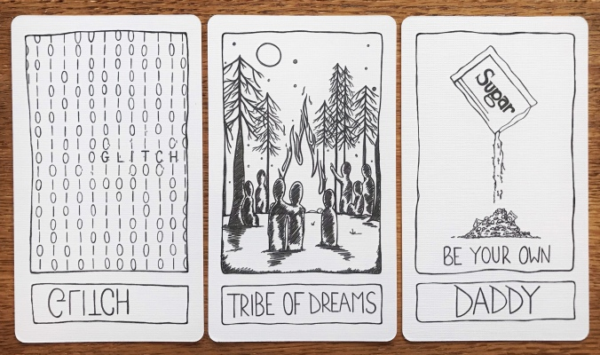 Postcards From the Liminal Space Tarot