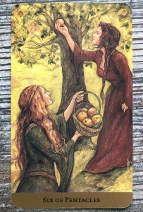 Six of Pentacles - Tarot of the Hidden Realm