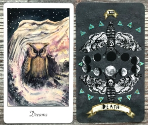 Shakiti Wisdom Oracle and Guided Hand Tarot