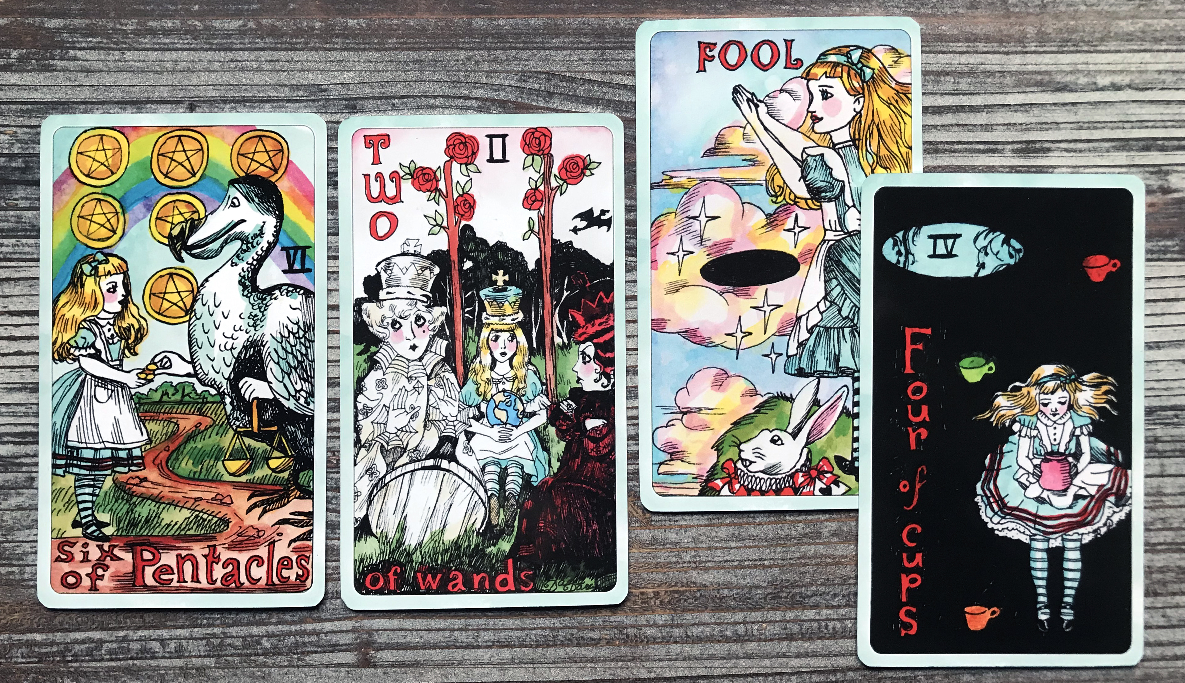 Queen Alice Tarot by Dame Darcy