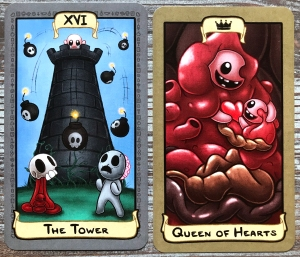 The Binding of Elijah Tarot