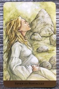 Seven of Pentacles - Tarot of the Hidden Realm