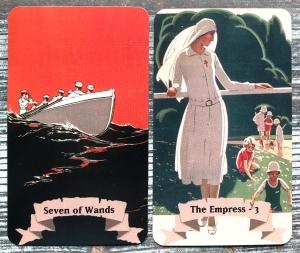 WWI Propaganda Posters Tarot
