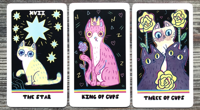 Weird Cat Tarot