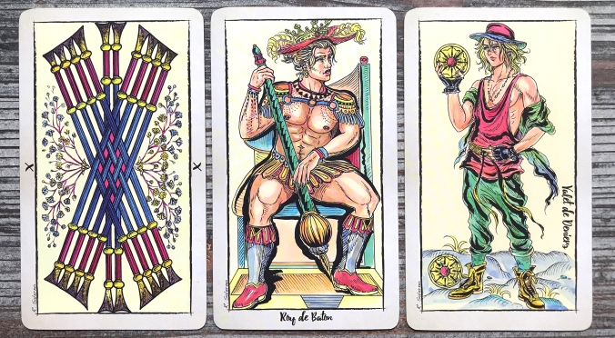 New Choice Tarot de Marseille