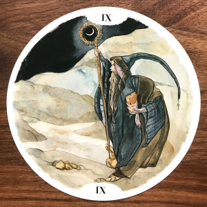The Hermit - Circle of Life Tarot