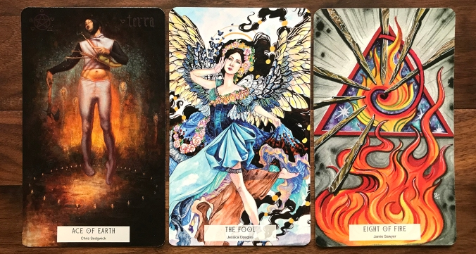 78 Tarot Elemental Tarot of the Natural