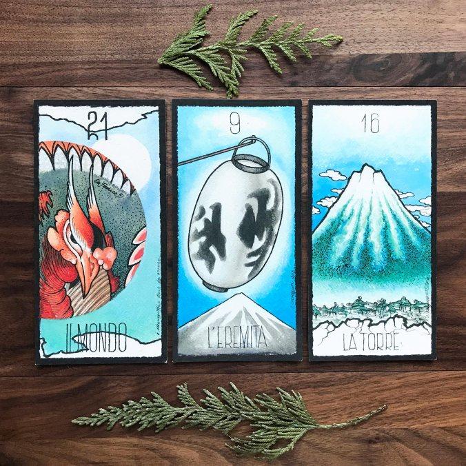 Tarocchi Di Hokusai