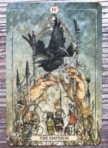 The Emperor - Hush Tarot