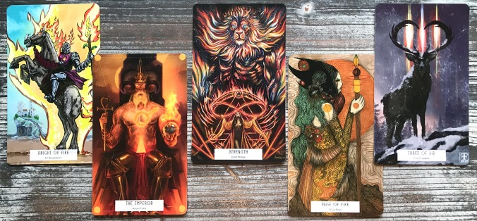 78Tarot Elemental Tarot of the Natural
