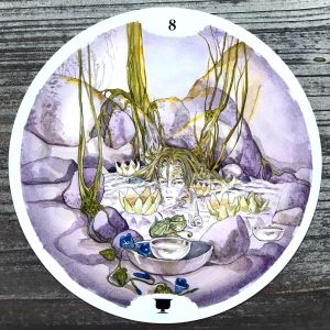 Eight of Cups - Circle of Life Tarot