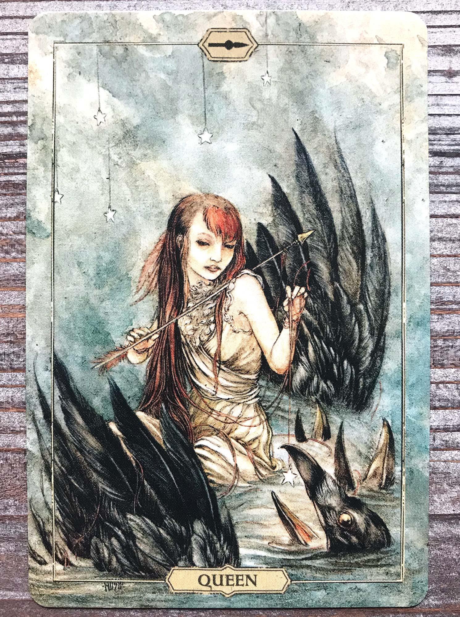 Queen of Wands - Hush Tarot