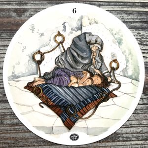 Six of Pentacles - Circle of Life Tarot