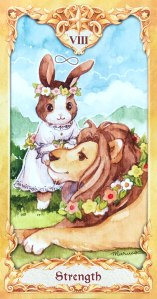 Maruco Animal Tarot - Strength
