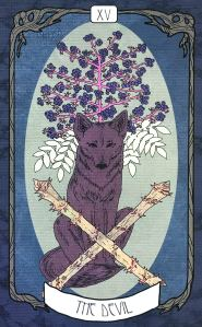 Forager's Daughter Tarot - The Devil