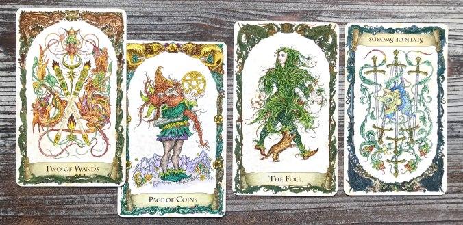 Mystical Creatures Tarot
