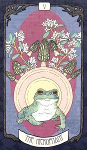 Forager's Daughter Tarot - The Hierophant