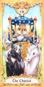 Maruco Animal Tarot - The Chariot