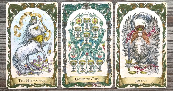 Mythical Creatures Tarot by BabaStudios
