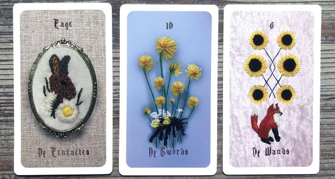 Embroidered Forest Tarot