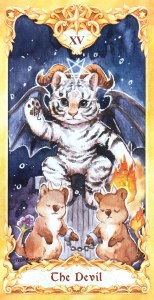 Maruco Animal Tarot - The Devil