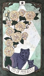 Forager's Daughter Tarot - Ten of Pentacles
