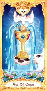 Maruco Animal Tarot - Ace of Cups