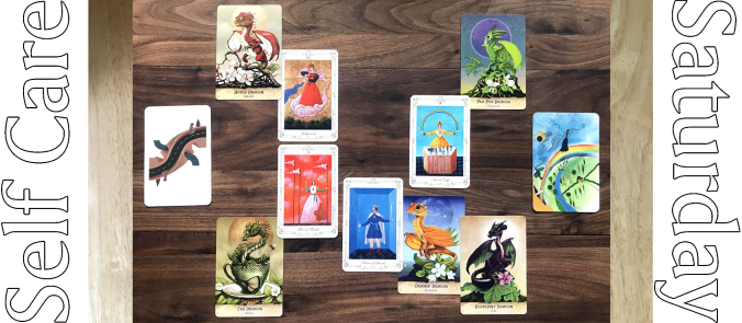 Stella's Tarot, Field Guide to Garden Dragons, and The Dream Deck