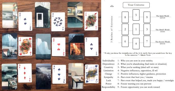 Jeremy Miranda Oracle Cards, Faunae Playing Cards Veiled Edition