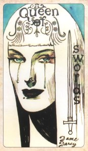 Dame Darcy's Mermaid Tarot - Queen of Swords