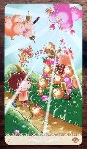 Happy Tarot - Seven of Pentacles