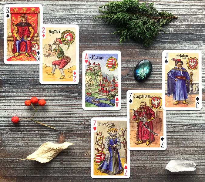 Carta Bellica Renaissance Playing Cards