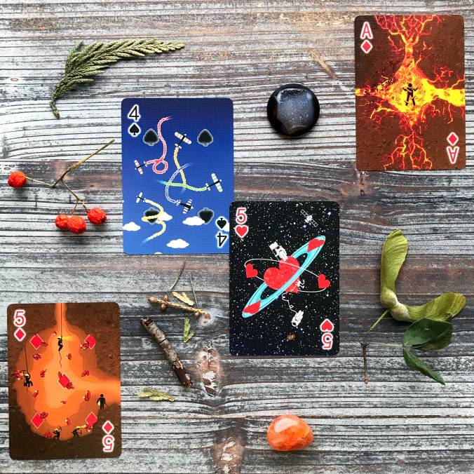 Pipmen Playing Cards