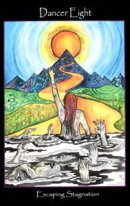 Tarot of the Sidhe - Dancer Eight