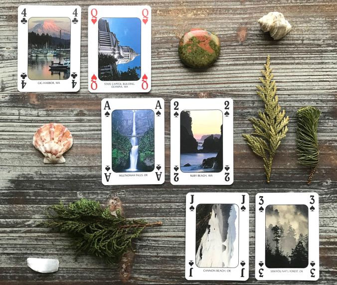 Discover the Pacific Northwest Playing Cards