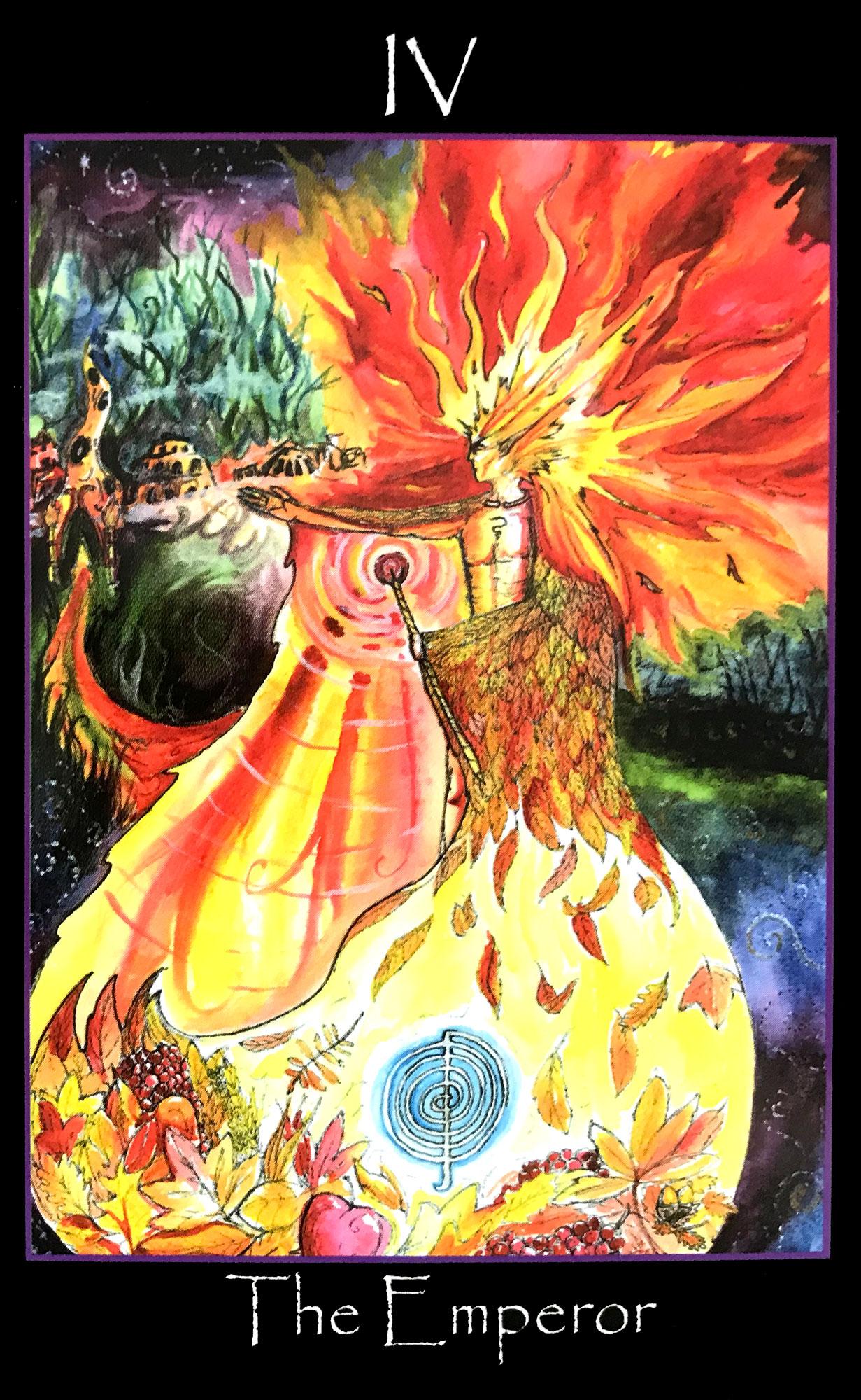 Tarot of the Sidhe - The Emperor